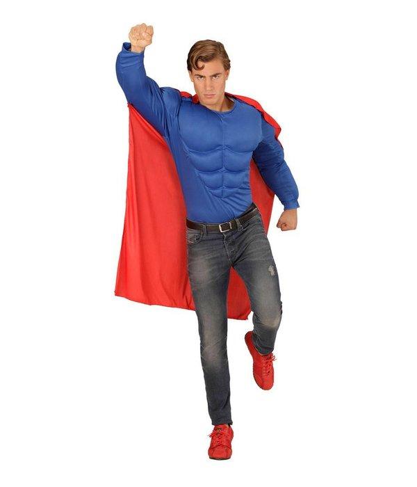 Superheld kostuum man
