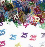 25 Jaar Tafeldecoratie / Sierconfetti