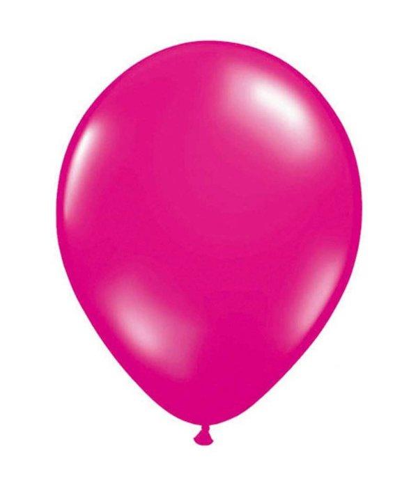 Magenta Metallic Ballonnen 10 stuks