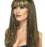 Egyptische godin pruik