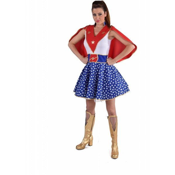 Super girl outfit dames elite