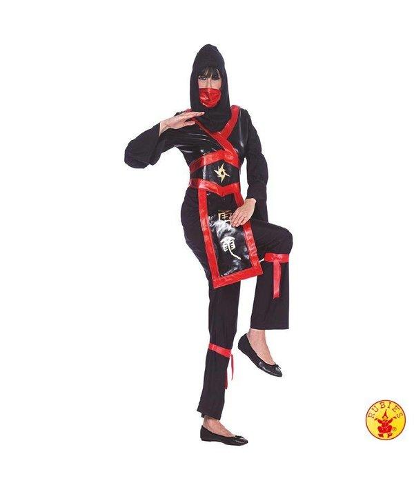 Ninja Lady kostuum