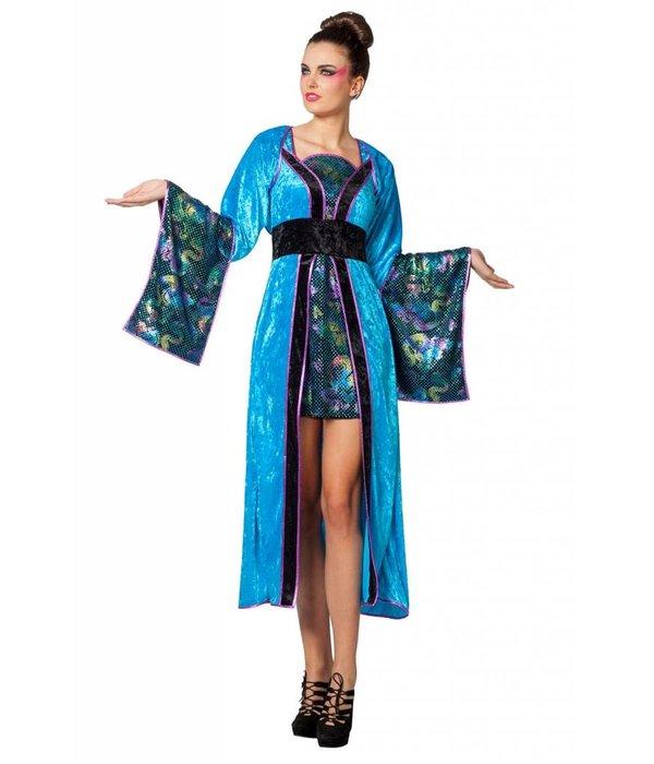 Miss Wuhan Chinees kostuum