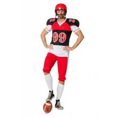 American Footballer Rugby kostuum man