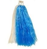 Cheerball ringgreep blauw/wit
