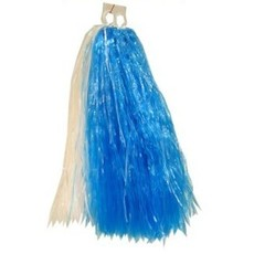 Cheerball ringgreep blauw/wit