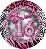 Sweet 16 Borden - 8 stuks
