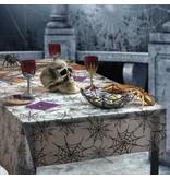 Tafelkleed Halloween spinnenweb