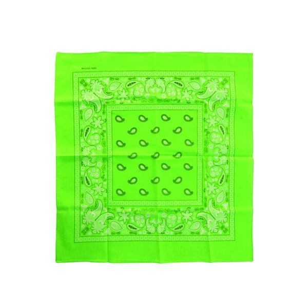 Bandana fluor groen