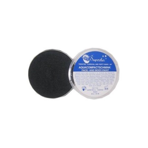 Superstar schmink 16 gram colour 163 Deep Black