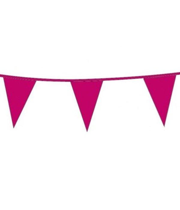 Vlaggenlijn Hard roze