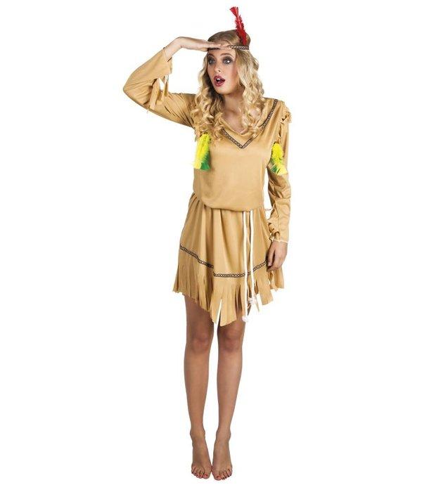 Indiaanse vrouwen kostuum