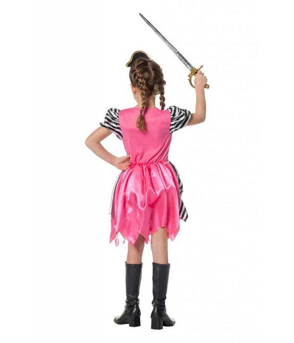 Piratenmeisje roze