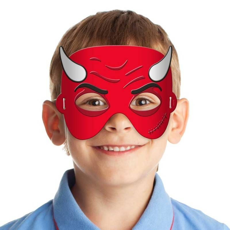 Kindermasker duivel