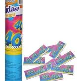 Confetti kanon verjaardag 40