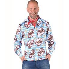 Alm Hirsch Oktoberfest blouse man