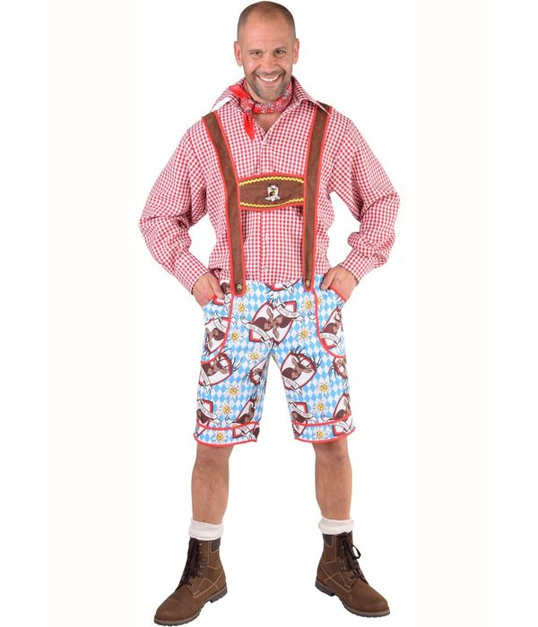 Alm Hirsch Oktoberfest tiroler broek