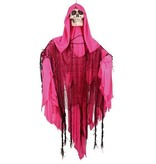 Deco skull roze shaking