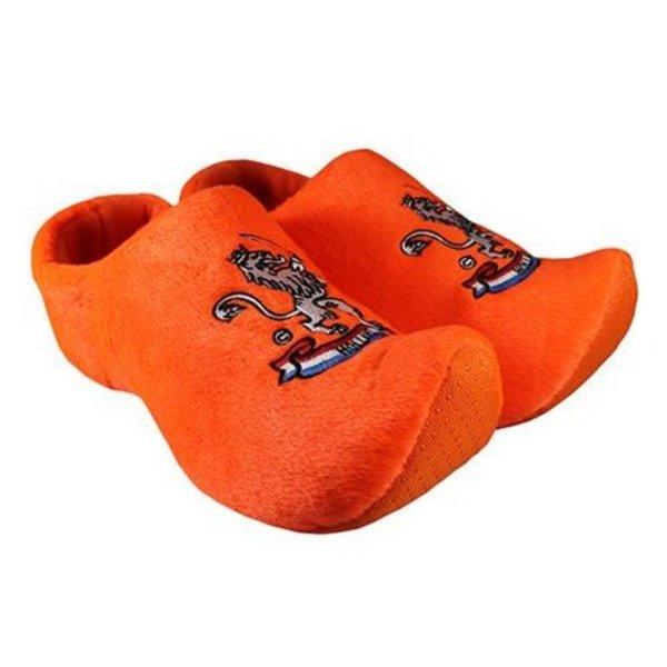 Klompsloffen oranje