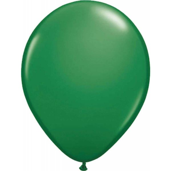 Donkergroene Ballonnen 10 stuks