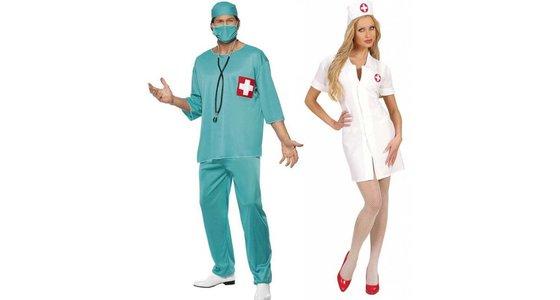 Verpleegster pakje & Dokter kostuum