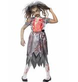 Zombie bruid pakje kind