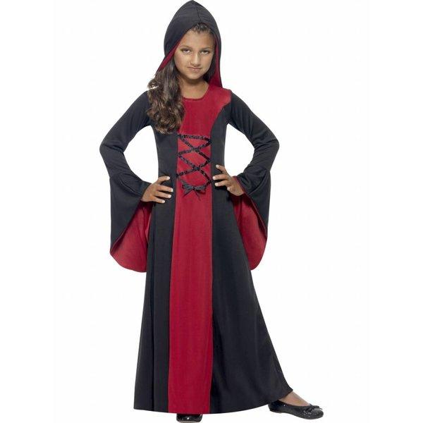 Vampieren jurk kind