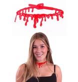 Halsband bloed halloween
