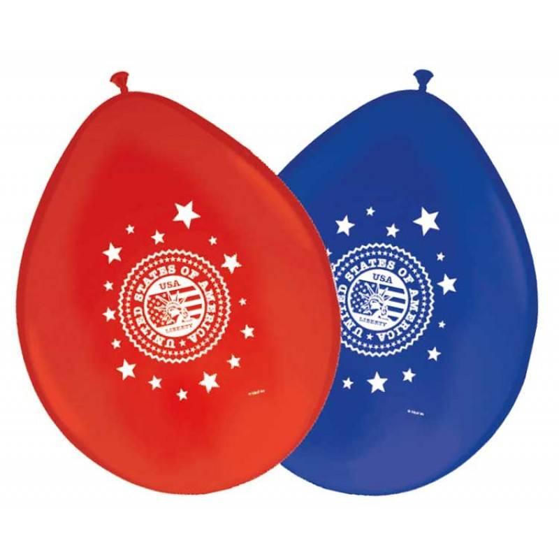 USA Party Ballonnen 8 stuks