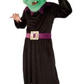 Mascotte kostuum Heks pluche