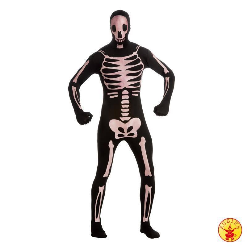 2nd Skin Suit skeleton glow in dark