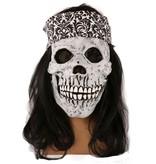 Masker Skull + Haarband