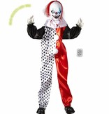 Halloween deco Killer clown pop 90cm