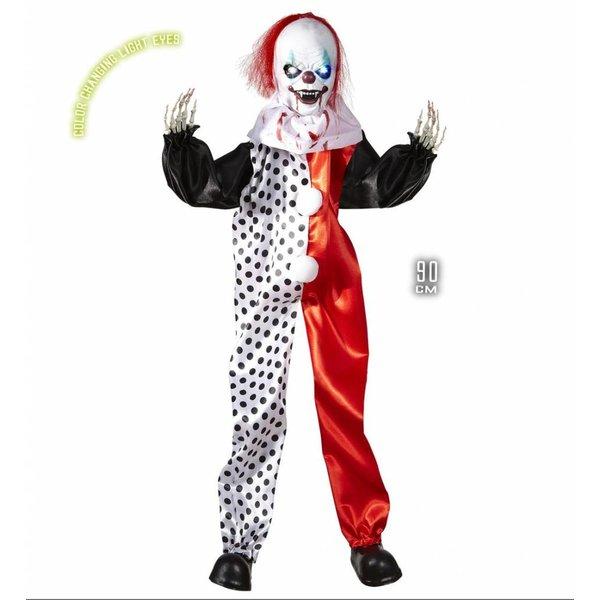 Halloween deco Killer clown pop 90cm