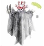 Animatie Killer Clown met licht en geluid