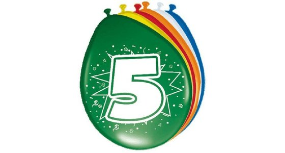 5 jaar