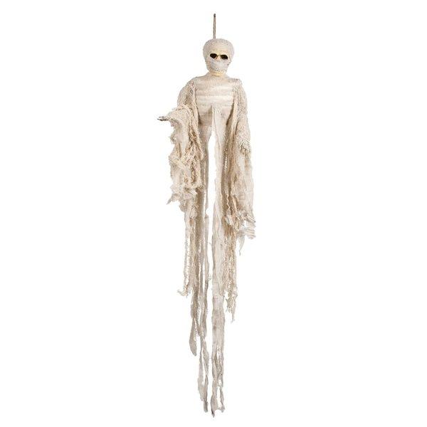 Mummie skelet decoratie 100cm