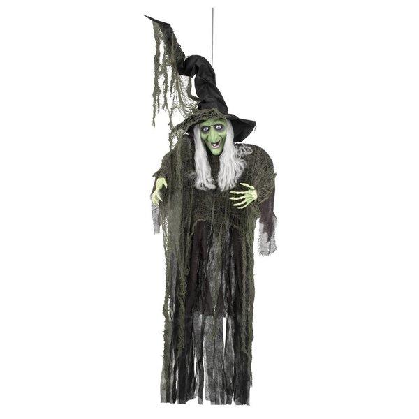 Decoratie Evil witch (190 cm)