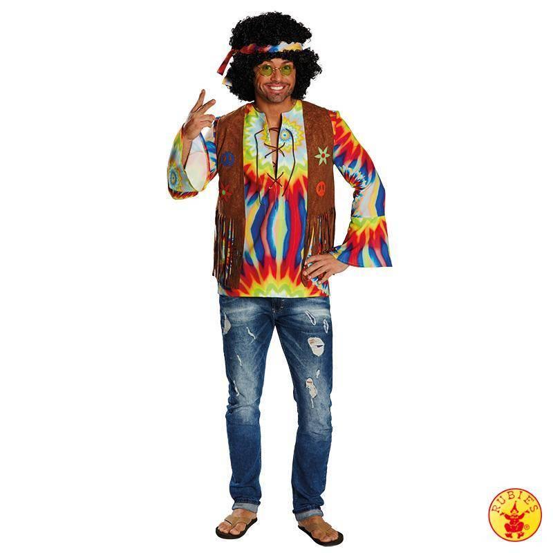 Hippie shirt met vest dani - Tenue hippie homme ...