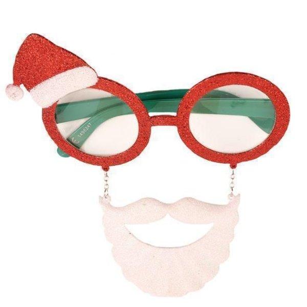 Kerstman bril + baard