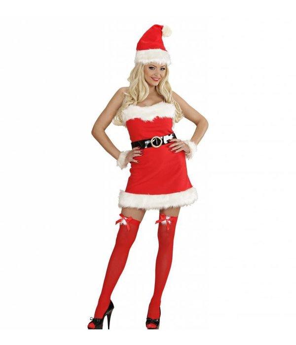 Kerstvrouw Santa kostuum