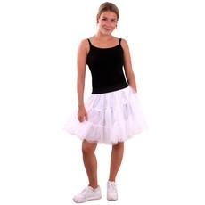 Petticoat wit 3-laags volwassenen