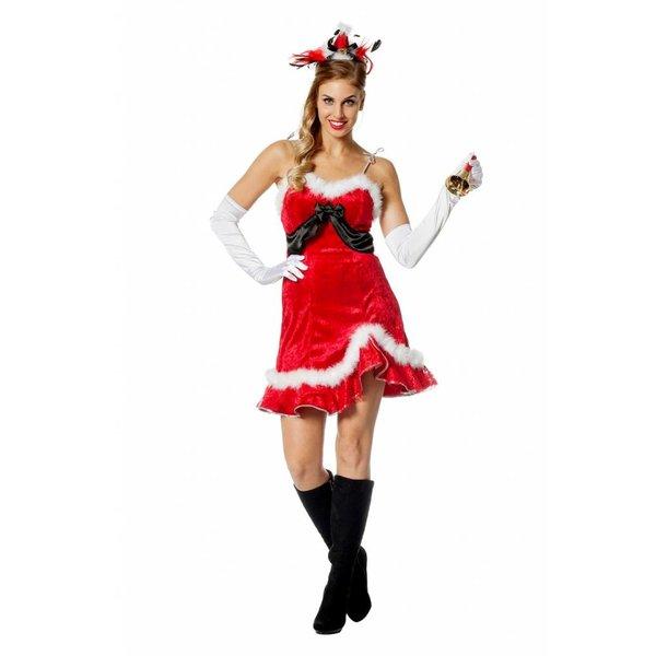 Toppers Kerst jurk vrouw