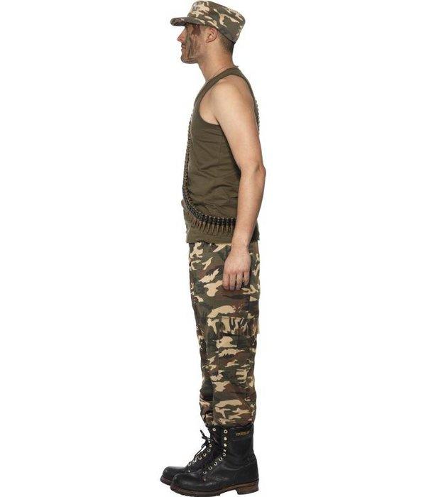 Khaki Camo leger kostuum man