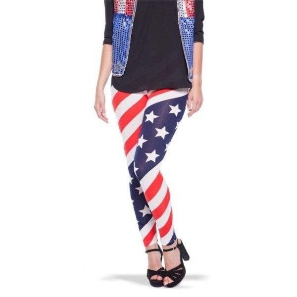 USA Amerikaanse vlag Legging