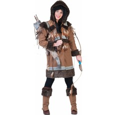Eskimo dames kostuum