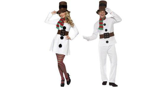 Sneeuwpop kleding
