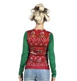 Kerstvrouw shirt Corny