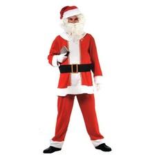 Complete kerstmannen pak
