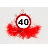 40 Jaar Tiara Verkeersbord